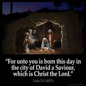 Luke 2:11 Inspi... City Of David Quotes
