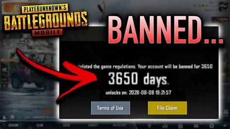 banned  pubg mobile youtube