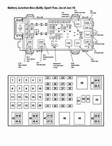 Fuse Box Diagram For 2002 Ford Explorer Sport Trac