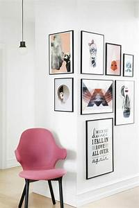 Wand Mit Fotos Gestalten : 50 fotowand ideen die ganz leicht nachzumachen sind ~ Orissabook.com Haus und Dekorationen