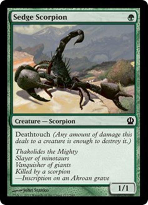 sedge scorpion theros gatherer magic the gathering