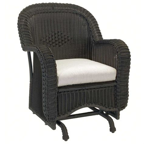 outdoor glider with ottoman classic outdoor wicker single glider