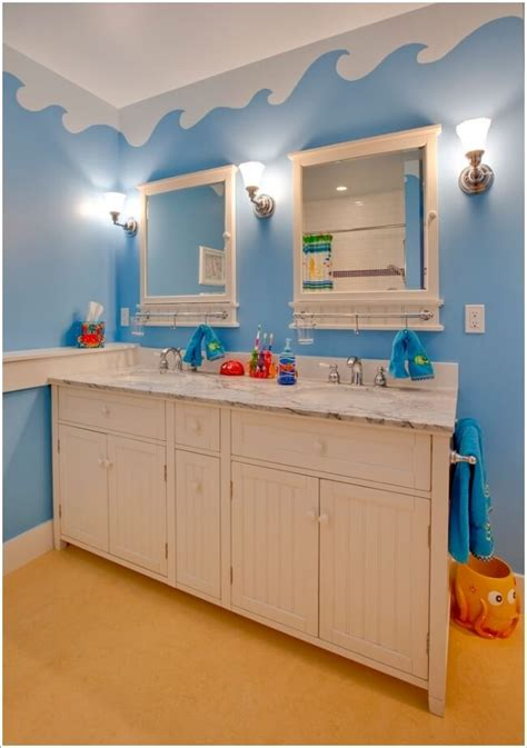 10 Cute And Creative Ideas For A Kids' Bathroom
