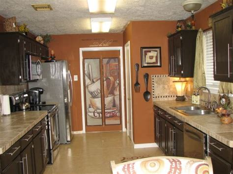 accent wall color ideas for kitchen 25 best ideas about burnt orange kitchen on 8998