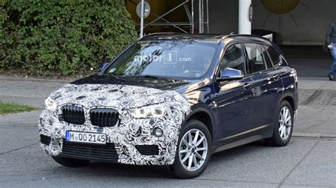 bmw x1 2020 facelift 2020 bmw x1 facelift makes photo debut