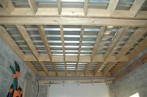 creation couverture terrasse en bac acier ou autre With maison bois toit plat 5 problame de condensation garage avec toit plat 16 messages