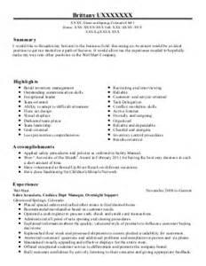 asm 1 resume exle lowes companies rochester minnesota