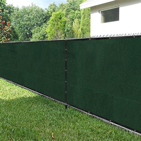 privacy cover for fence amagabeli fence privacy screen 8x50 for chain link fence fabric screening with brass grommets