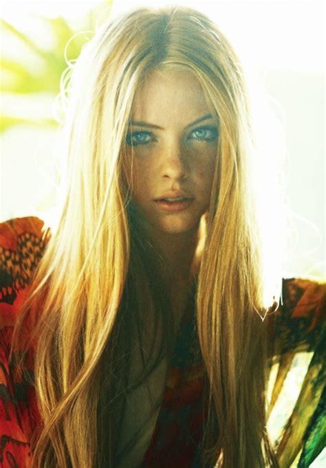 Beautiful Blonde Blue Eyes