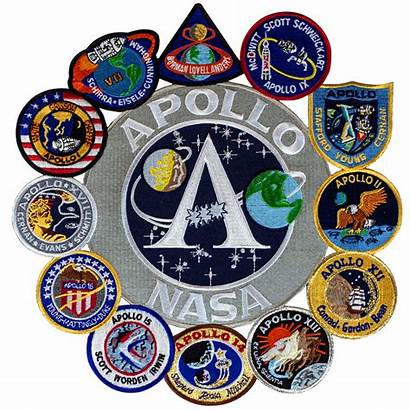 Apollo Patch Program Collage Mission Space Patches