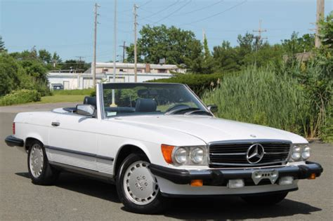 1988 Mercedes Benz 560sl Two Tops Ac Clean Carfax
