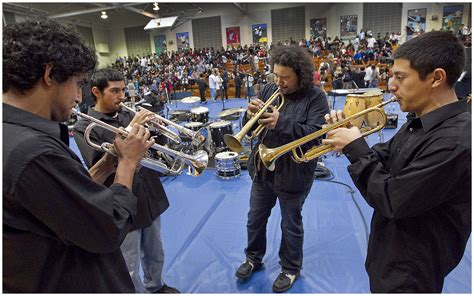Grammy-award Winning Musical Group Ozomatli Visits Reagan