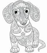 Coloring Dane Printable Adult Dog Adults Getdrawings Colouring Mandala Animal Puppy sketch template