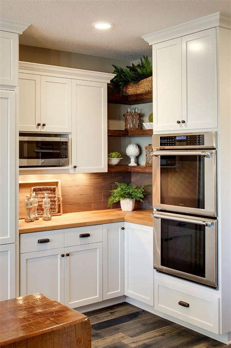 Corner Kitchen Cabinet Decorating Ideas by Best 20 Kitchen Corner Ideas On No Signup