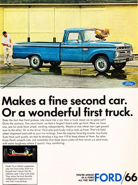 1966 Ford pickup ad | CLASSIC CARS TODAY ONLINE