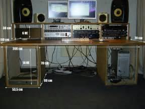 tonstudio tisch daw tisch 19 rack vb 750 in hamburg With tonstudio tisch
