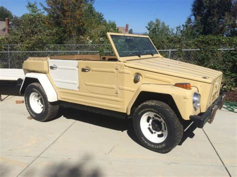Type 181 Vw Thing Convertable With Hard Top For Sale In