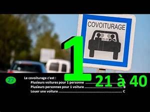 Code De La Route Série Gratuite : test type p dago de l 39 examen 2018 du code de la route s rie 1 questions 21 40 youtube ~ Medecine-chirurgie-esthetiques.com Avis de Voitures