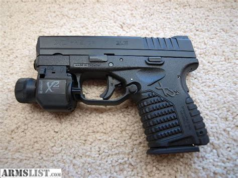 springfield xds light armslist for springfield xds 45 insight x2