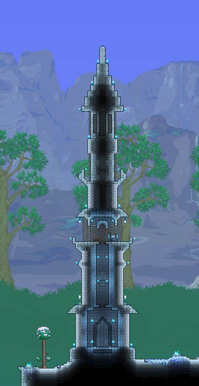 small ice tower terraria terraria house design terraria house ideas terrarium