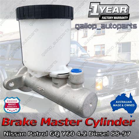 brake master cylinder nissan patrol gq y60 4 2 tb42 td42 rear drum 88 97 jb1777