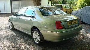 Rover 75 Cdt Club Se 2003  50k Miles    Personal Line