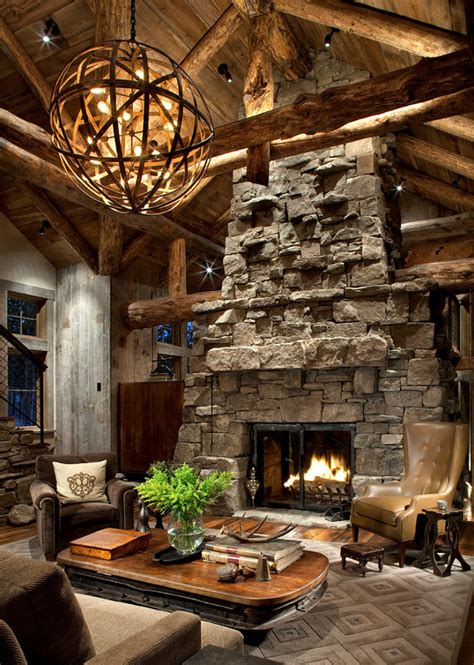 faux wood beams exterior rustic ski lodge home bunch interior design ideas