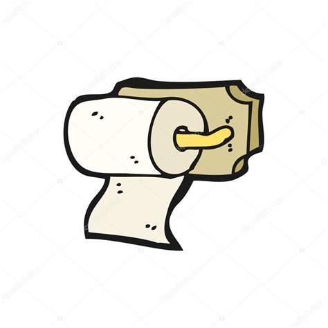 rouleau de papier toilette dessin anim 233 image vectorielle 14923581