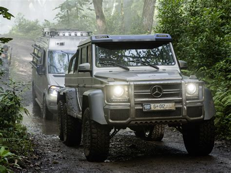 mercedes benz jeep 6 wheels heres the 6 wheeled monster mercedes that will battle