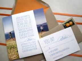 unique wedding invites claudine michael 39 s unique california wedding invitations