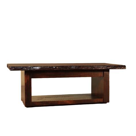 live wood coffee table live edge coffee table home envy furnishings solid wood