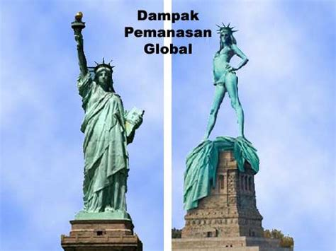 akibat pemanasan global humor singkat lucu gambar