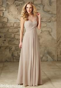 Champagne Color Bridesmaid Dresses… too washed out ...