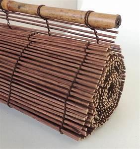 Store Enrouleur Bois : store bambou enrouleur interieur et exterieur discount ~ Premium-room.com Idées de Décoration