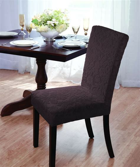 Damask Dining Room Chairs by Luxurious Velvet Damask Dining Chair Cover Stretch