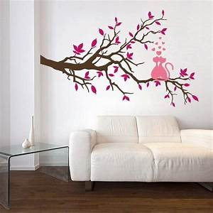 Charming interior decorating ideas with cat stickers