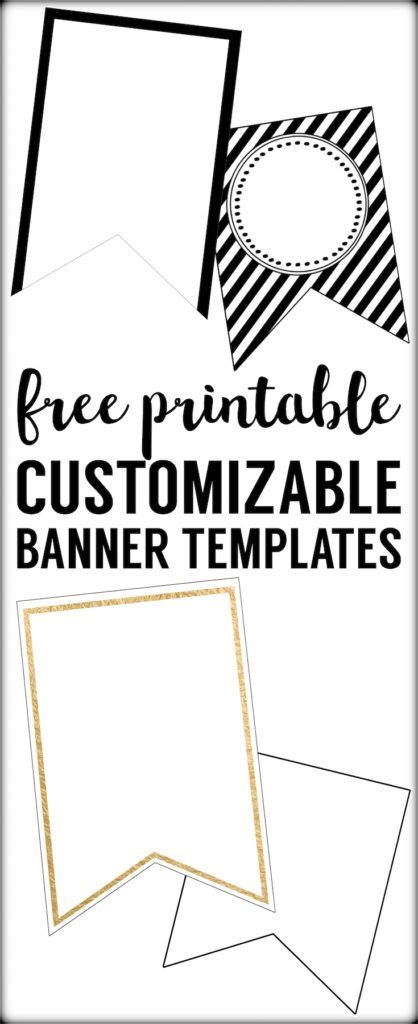 Free Printable Banner Templates by Free Printable Banner Templates Blank Banners Blank