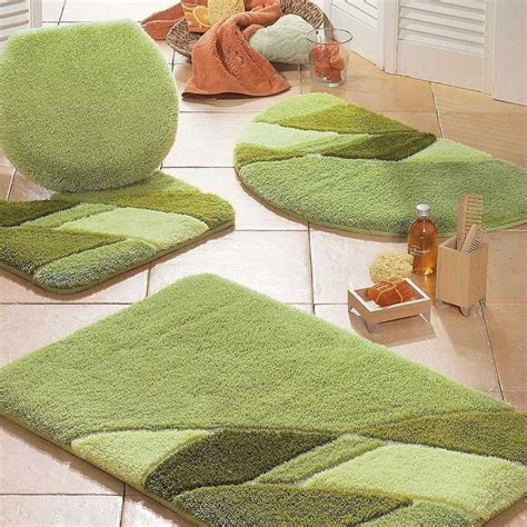 Lime Green Bath Rugs For Master Bathroom Floor Plans With