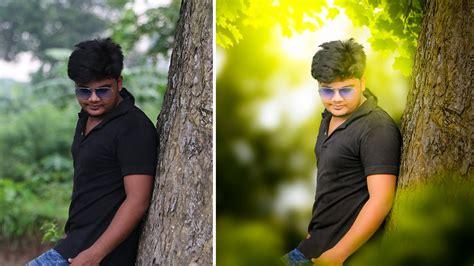 photoshop cc tutorial change background fantasy photo