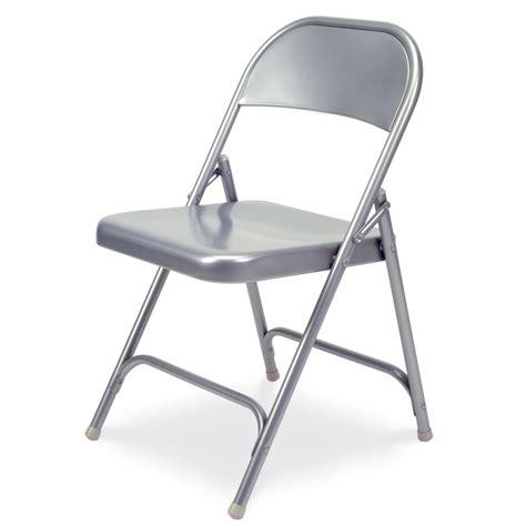 all steel folding chair silver mist carolina