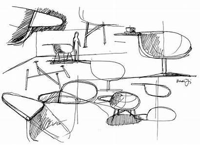 Lounge Chair Moment Feiz Offecct Sketch Designboom