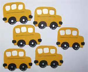 School Bus Cut Out Template