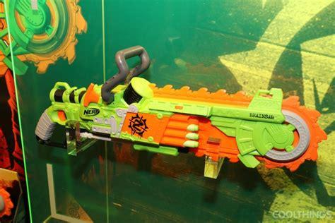 nerf zombie strike brainsaw guns coolthings gun cool via toys blasters