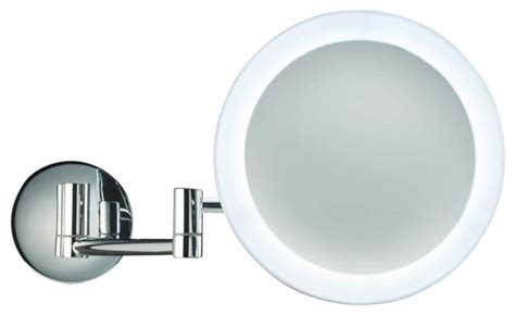 Smile Magnifying Mirror Illuminated In Chrome X