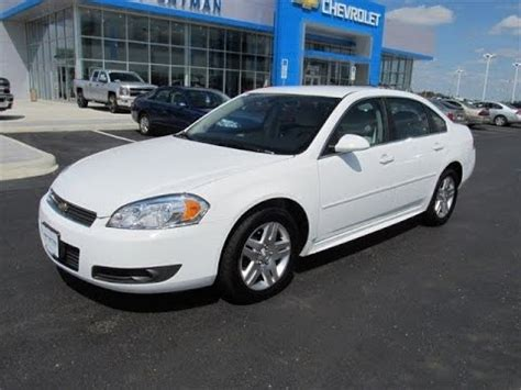chevrolet impala lt review columbus  cars