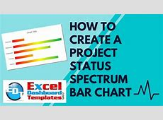 How to Create an Excel Project Status Spectrum Bar Chart