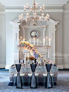 wedding trends cascading flowers belle the magazine With bride and groom table centerpiece