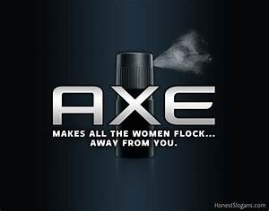Honest Slogans: Axe Body Spray | Honest Slogans | Know ...