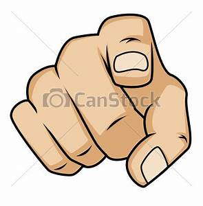Cartoon Pointing Finger Clipart - Clipart Suggest