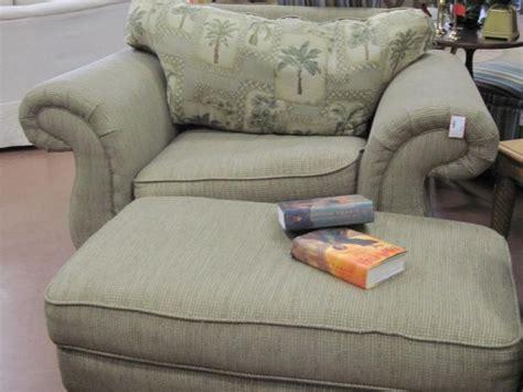 overstuffed chair and ottoman home design ideas